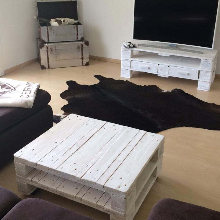 couchtisch weiss zubring palettenm bel. Black Bedroom Furniture Sets. Home Design Ideas