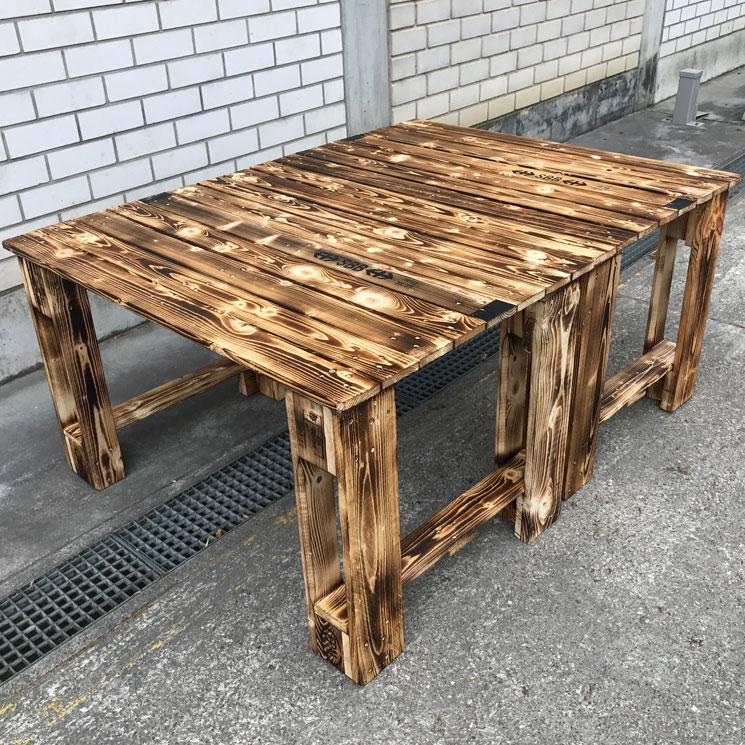 Gartentisch Jazz XL – ZuBring Palettenmöbel