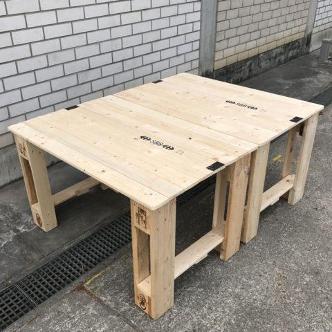 Sitzbank & Tisch – ZuBring Palettenmöbel