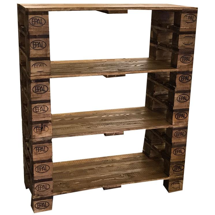 regal nussbaum l zubring palettenm bel. Black Bedroom Furniture Sets. Home Design Ideas
